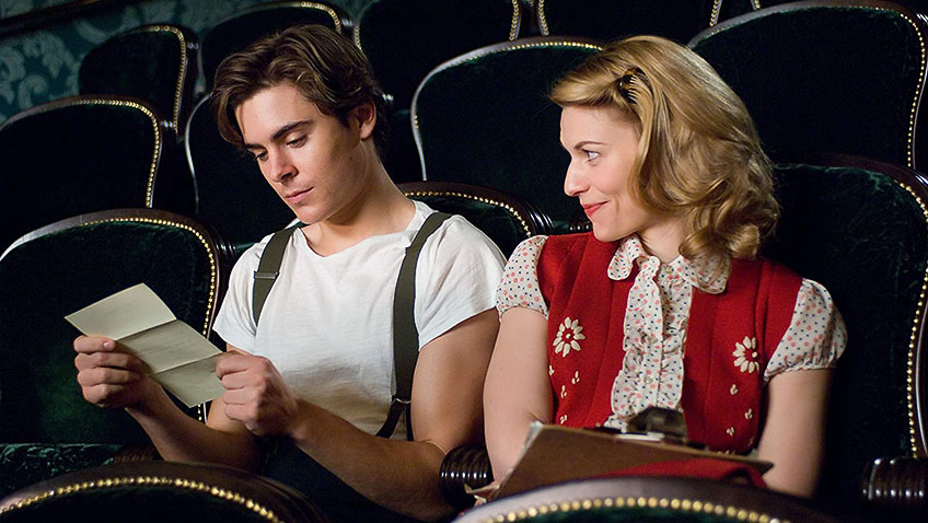 Claire Danes and Zac Efron in Me and Orson Welles - Credit IMDB