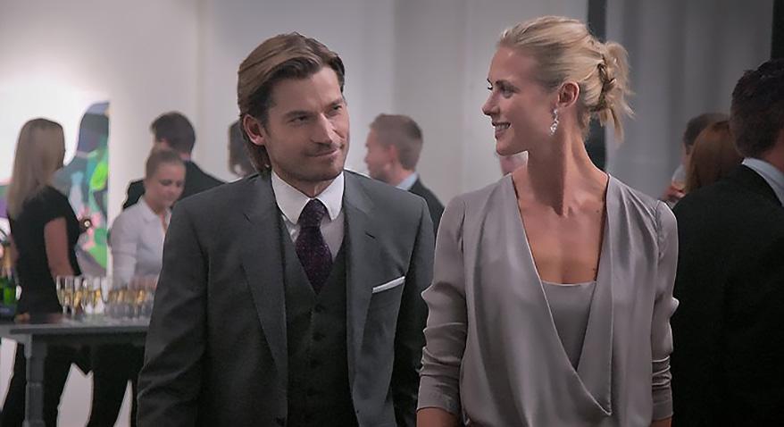 Nikolaj Coster-Waldau and Synnøve Macody Lund in Headhunters - Credit IMDB