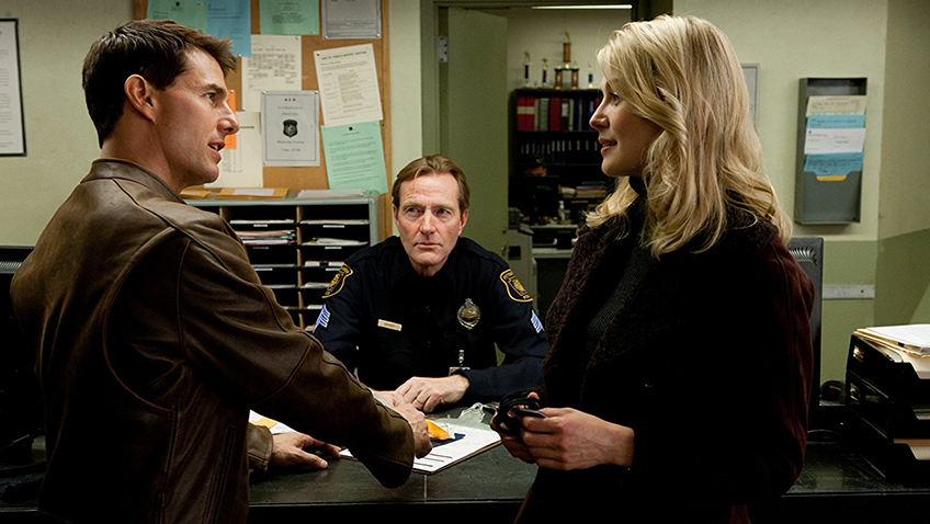 Tom Cruise and Rosamund Pike in Jack Reacher - Copyright 2012 - Paramount Pictures - Credit IMDB