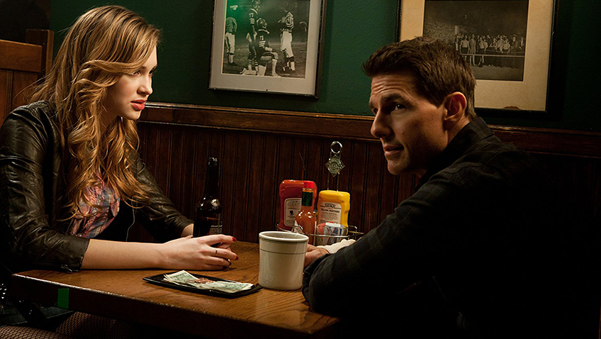 Tom Cruise and Alexia Fast in Jack Reacher - Copyright MMXII Paramount Pictures Corporation. All Rights Reserved. - Photo Credit Karen Ballard - Credit IMDB