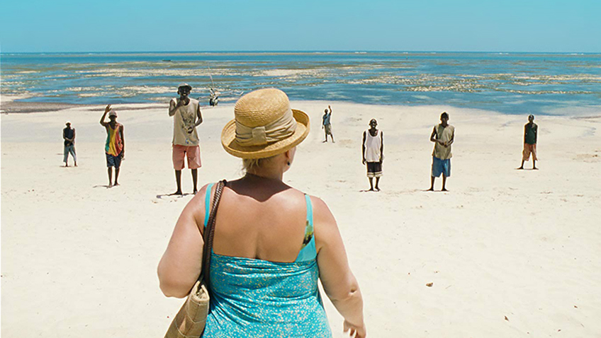 Middle-aged European women who go on holiday in Africa to pick up boys