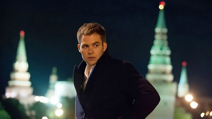 Jack Ryan: Shadow Recruit, starring Harrison Ford and Kenneth Branagh