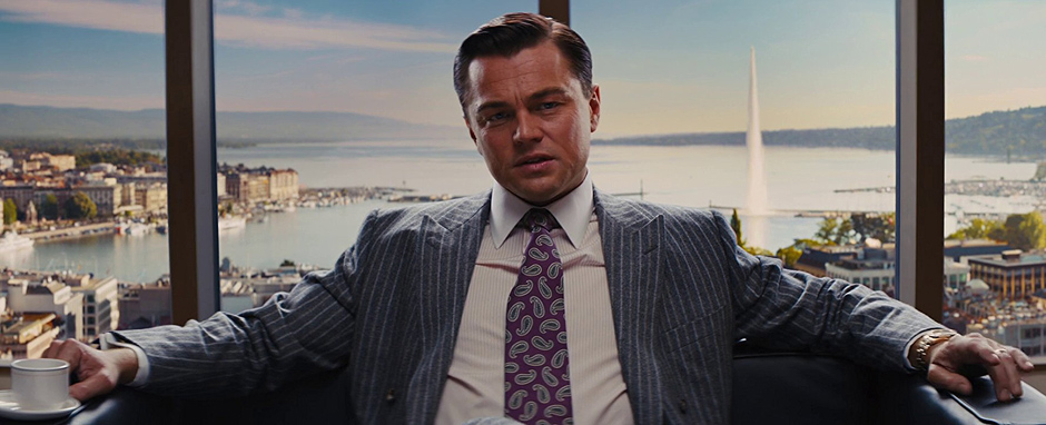 Leonardo DiCaprio in The Wolf of Wall Street - Credit IMDB