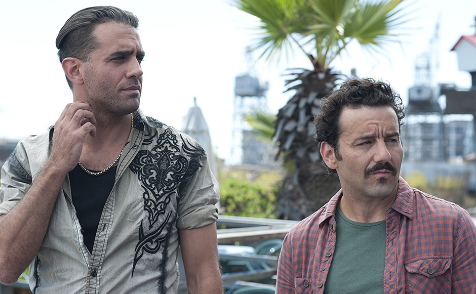 Bobby Cannavale and Max Casella in Blue Jasmine - Credit IMDB