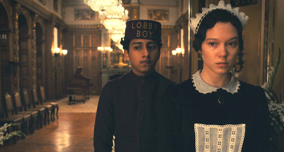 Tony Revolori and Léa Seydoux in The Grand Budapest Hotel - Credit IMDB