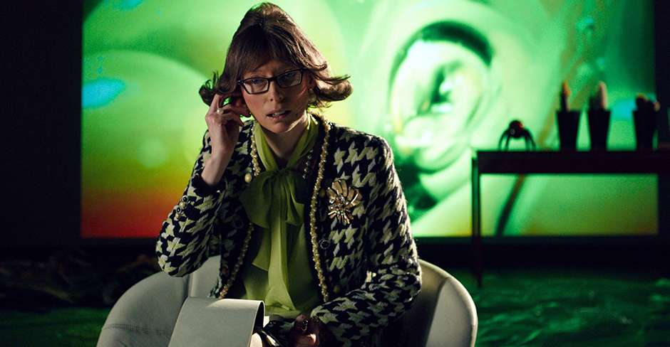 Tilda Swinton in The Zero Theorem - Credit IMDB