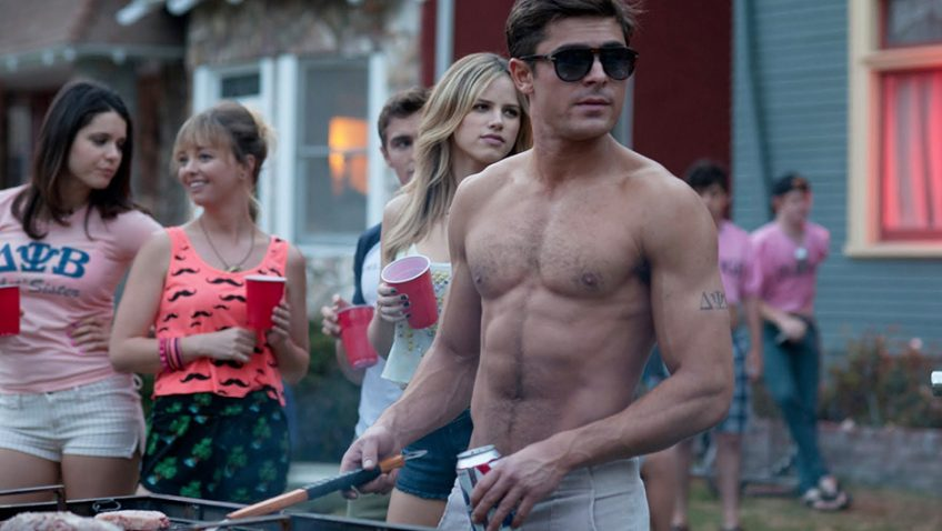 Bad Neighbours starring Seth Rogen and Zac Efron has some genuine laughs