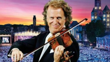 King of the Waltz ANDRÉ RIEU takes us on a romantic journey with new album 'Love in Venice'