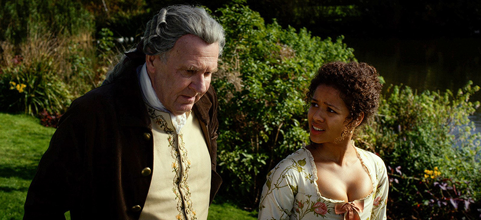 Tom Wilkinson and Gugu Mbatha-Raw in Belle - Copyright 2013 - Fox Searchlight Pictures - Credit IMDB