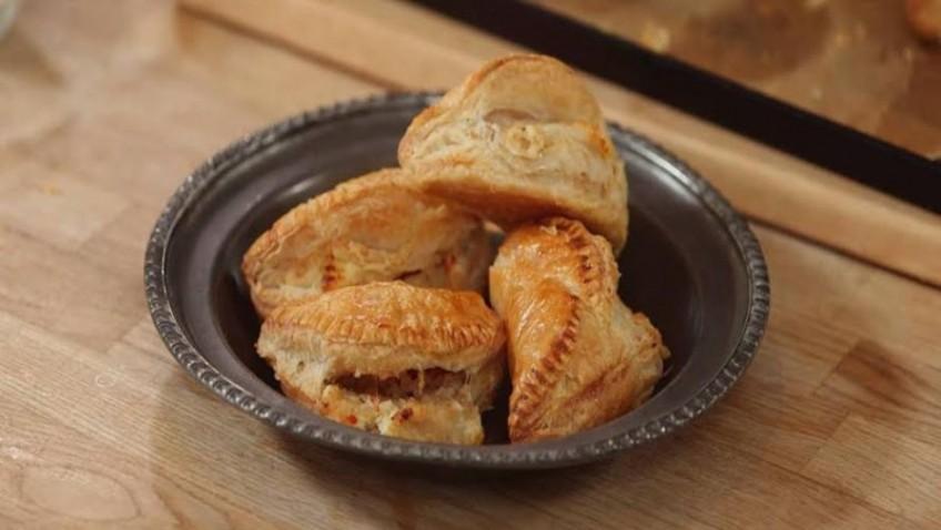 Phil Vickery's Baked British Turkey Empanadas.