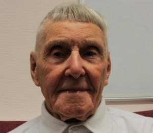 Hugh Hughes blind veteran