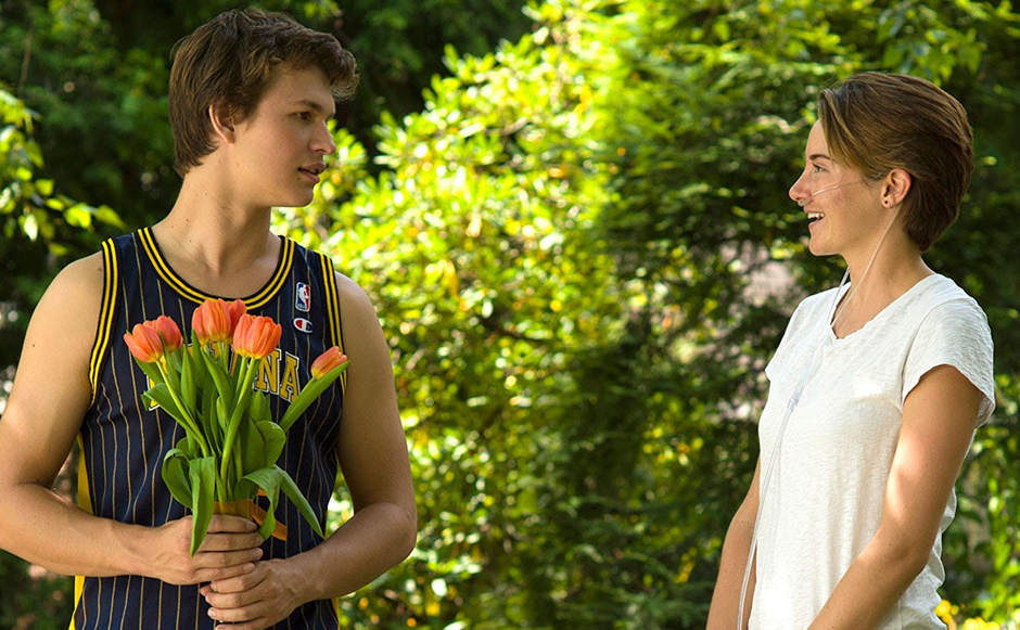 Shailene Woodley and Ansel Elgort in The Fault in Our Stars - Credit IMDB