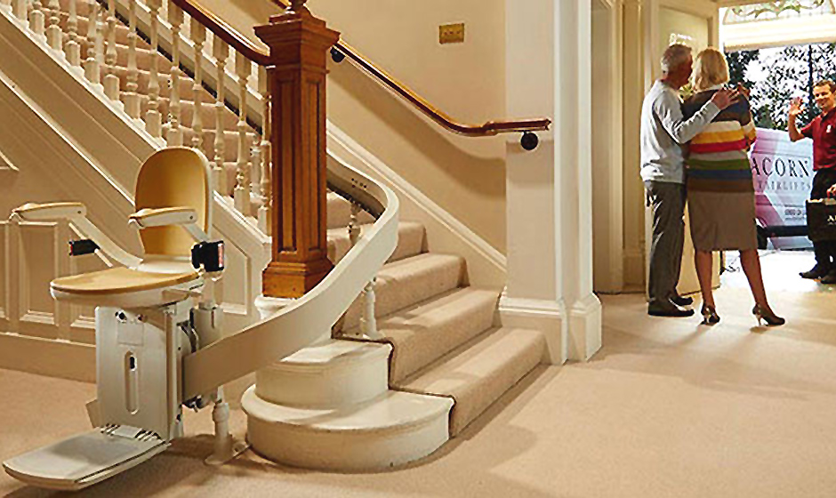 Make life easier with an Acorn Stairlift - Mature Times