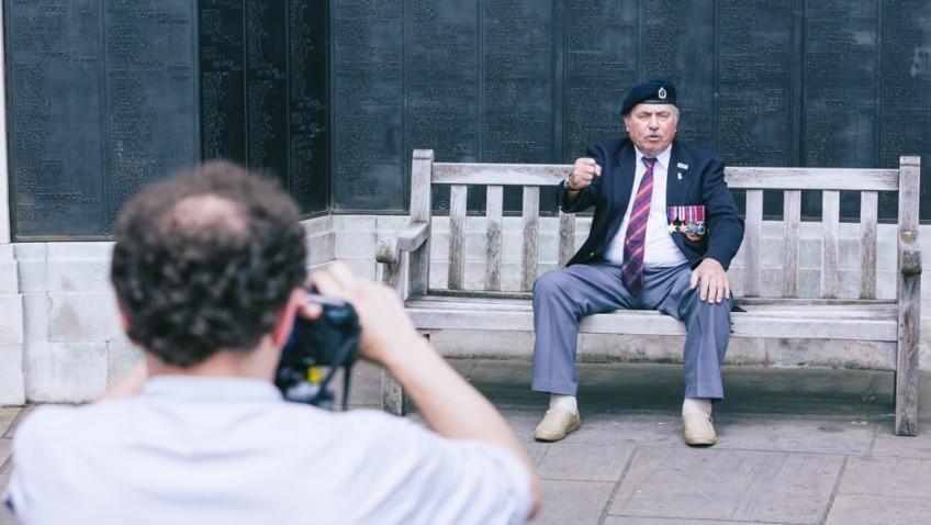 Local veteran stars in WW1 charity video