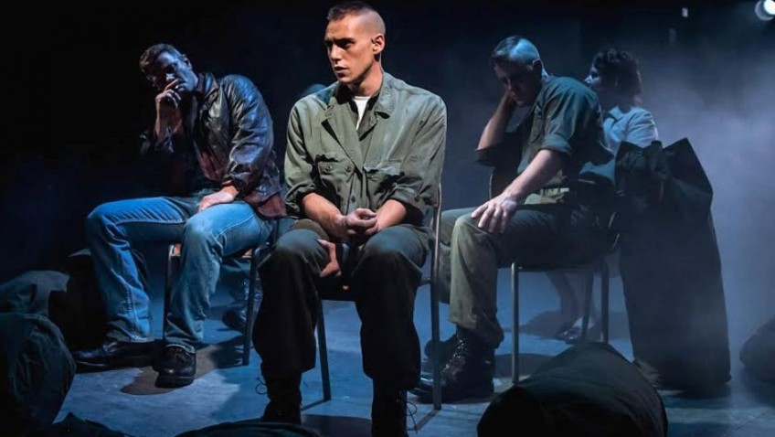 "US Marines behaving very badly in ""Dogfight"" musical"