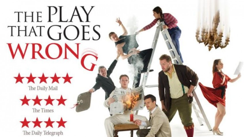 Win weekend break to see The Play That Goes Wrong!