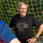 Sports champion Dave Moorcroft launches walking football