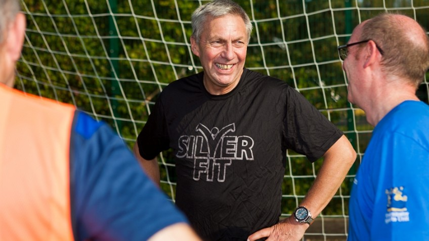 Sports champion Dave Moorcroft launches walking football