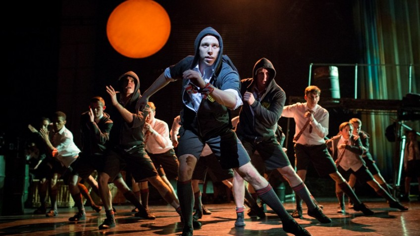 William Golding's famous novel as dance theatre for boys and young men