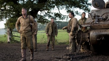 A 'warts and all' depiction of war starring Brad Pitt and Shia LeBeouf