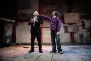 Jonah and Otto by Robert Holman. Peter Egan (Otto) and Alex Waldmann (Jonah). Photo by Jack Sain