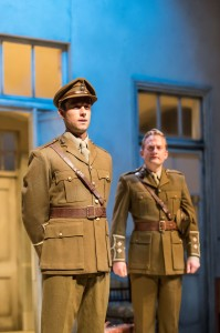 Tim Delap (Siegfried Sassoon) & Christopher Brandon (Robert Graves)