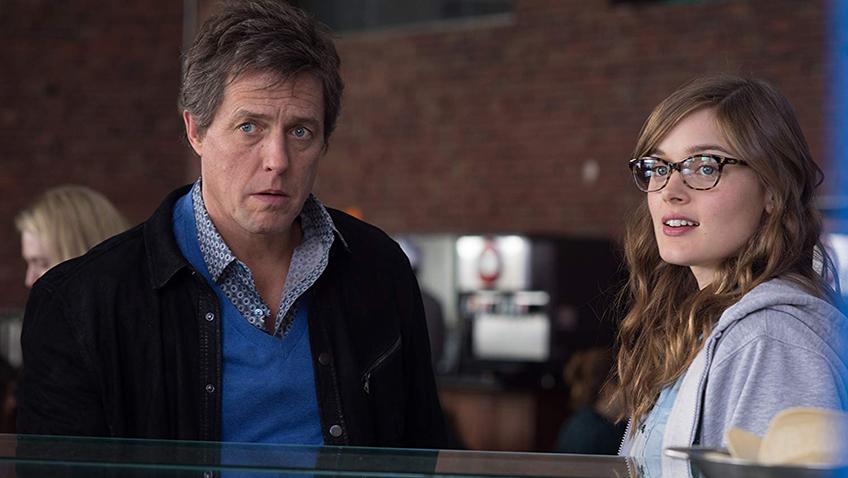 Hugh Grant and Bella Heathcote in The Rewrite - Credit IMDB