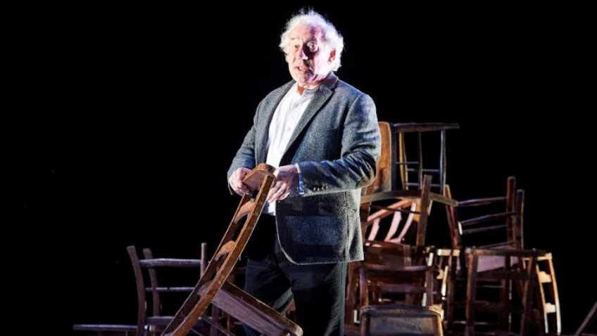 Simon Callow is touring in his one-man show in a series of one-night stands
