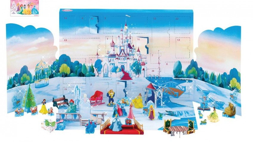 New Disney Princess Advent Calendar makes for a Magical Christmas Countdown