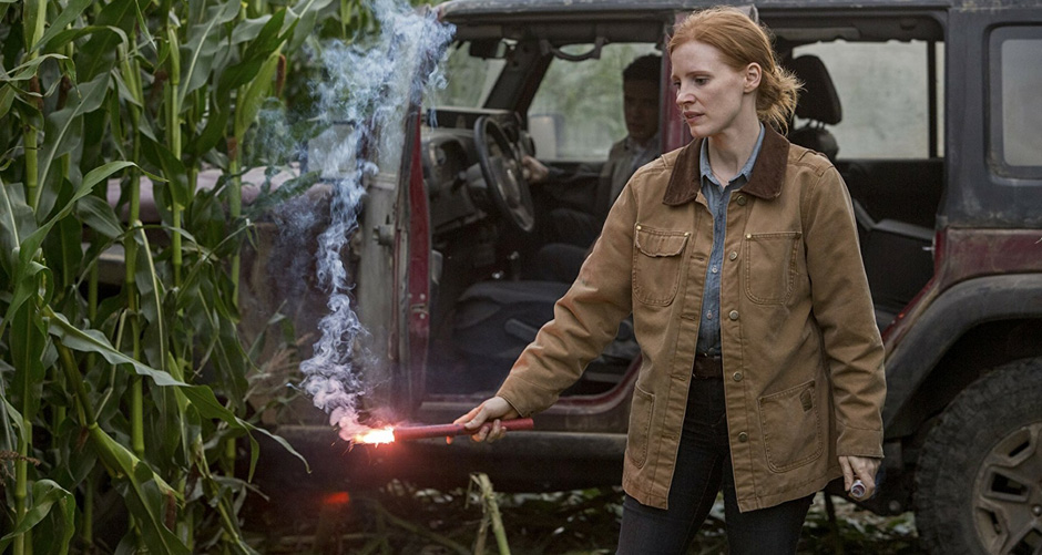 Jessica Chastain in Interstellar - Credit IMDB