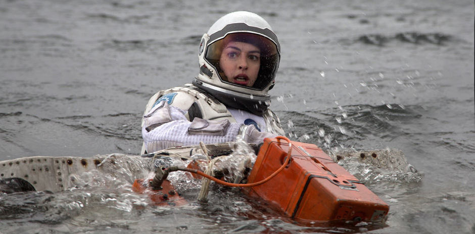 Anne Hathaway in Interstellar - Credit IMDB