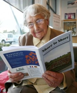Lily Mauger - the world's oldest editor