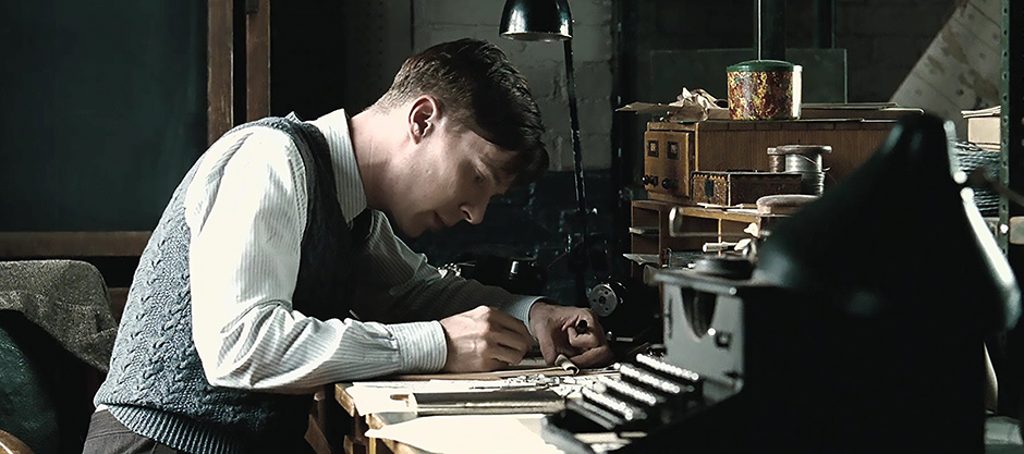 Benedict Cumberbatch in The Imitation Game - Credit IMDB