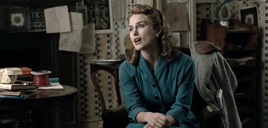 Keira Knightley in The Imitation Game - Credit IMDB