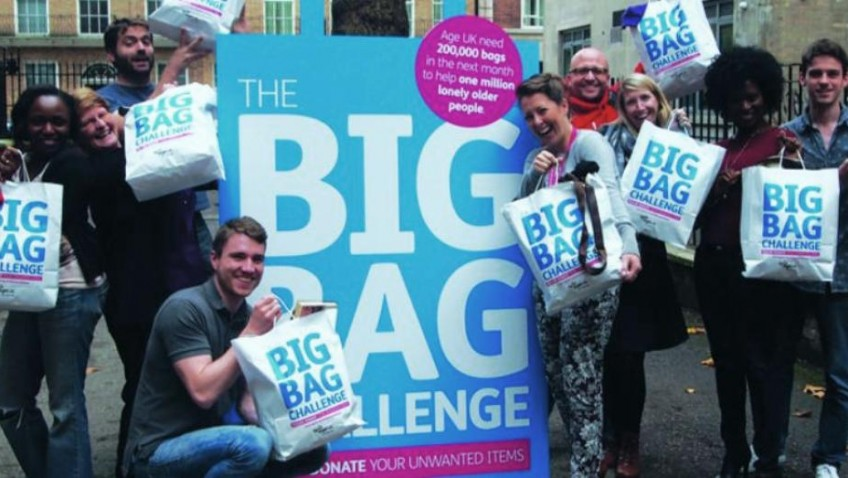 Age UK is calling you to join in with a nationwide stock appeal