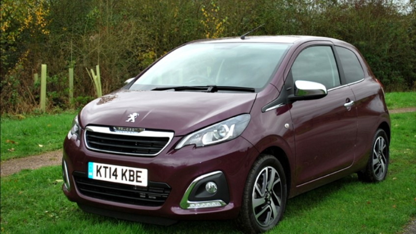 The Peugeot 108 is great on petrol!