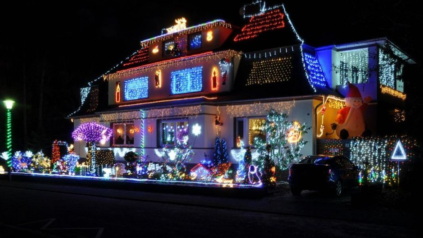 Why do we have to be so lit up at Christmas?