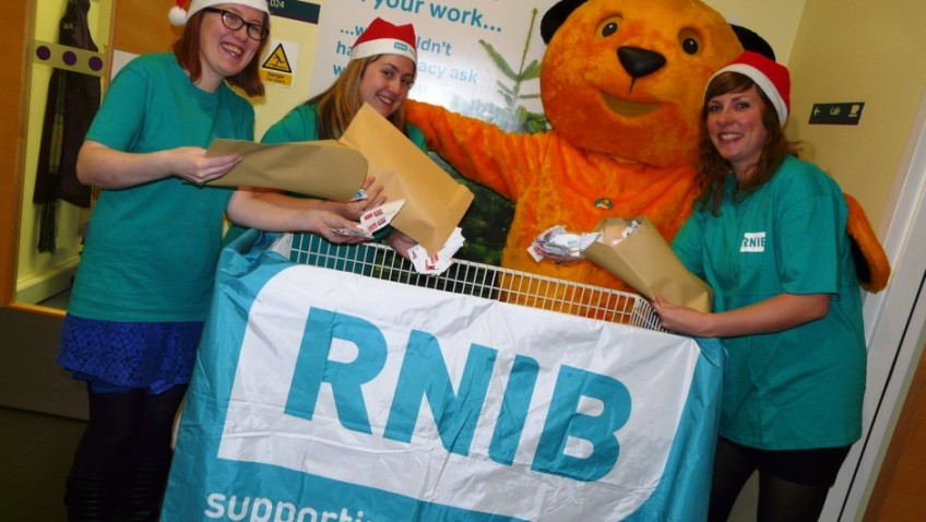 Help RNIB deliver 'first class' services for blind