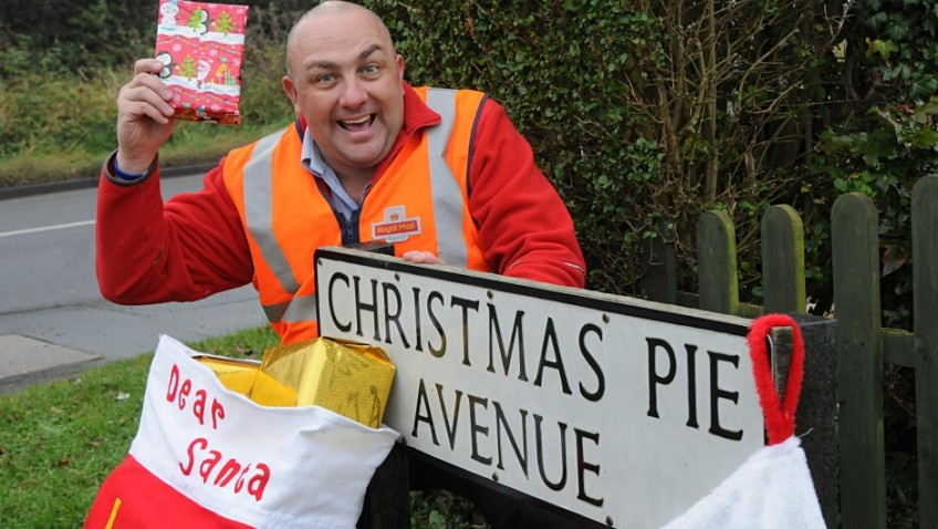 The UK's most festive street names