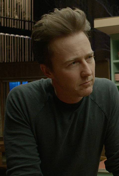 Edward Norton in Birdman or (The Unexpected Virtue of Ignorance) - Credit IMDB