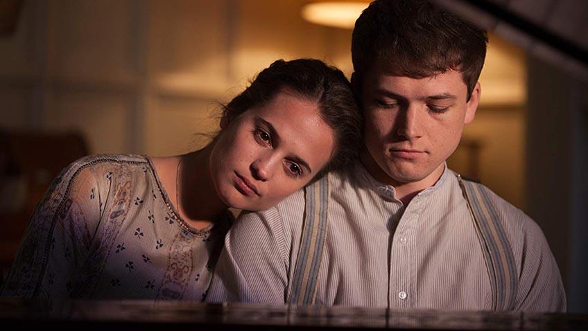 Alicia Vikander and Taron Egerton in Testament of Youth - Credit IMDB