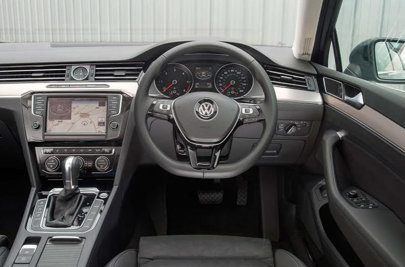 VW Passat Estate interior