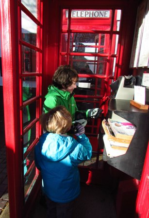 Iona Burchell phone boxes