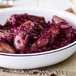 Sausage & Red Cabbage Casserole