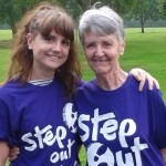 Olympian Sharron Davies champions Step out for Stroke