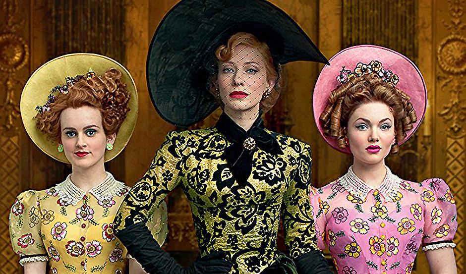 Cate Blanchett, Holliday Grainger, and Sophie McShera in Cinderella - Credit IMDB