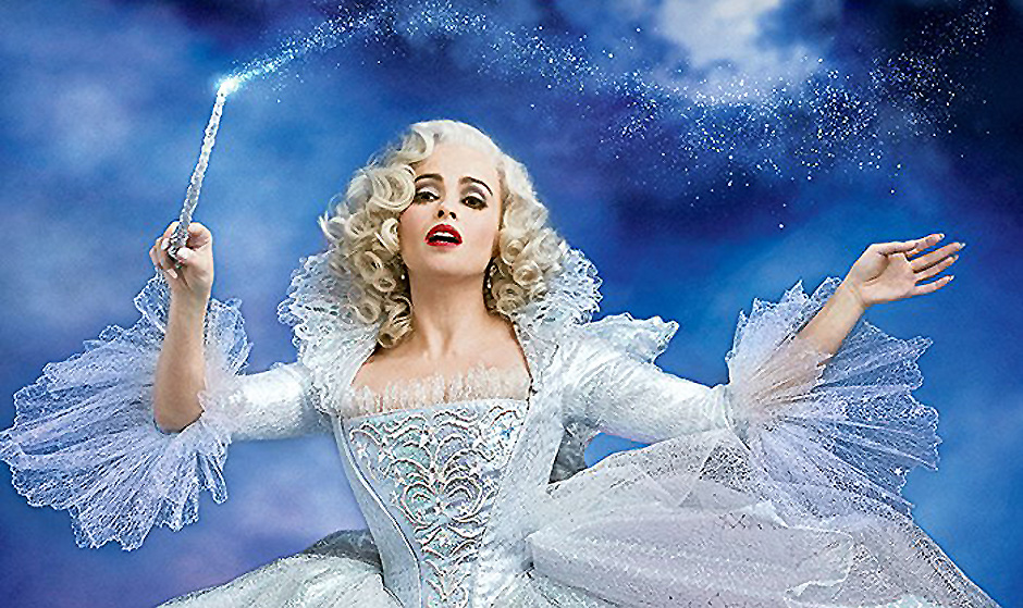 Helena Bonham Carter in Cinderella - Credit IMDB