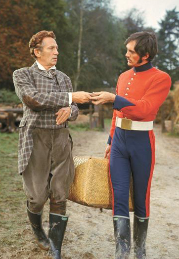 Terence Stamp and Peter Finch in Far from the Madding Crowd - Credit IMDB