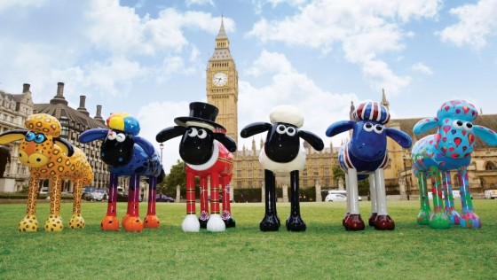 Shaun the Sheep will be arriving on the streets soon