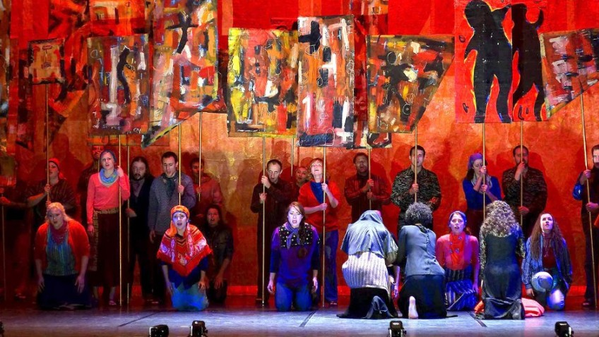 A re-working of a rarely seen Purcell by Peter Sellars
